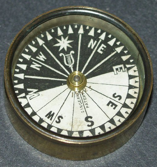 Singers patent compass